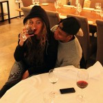 Beyonce Squashes Pregnancy Rumors With Wine-Drinking Picture