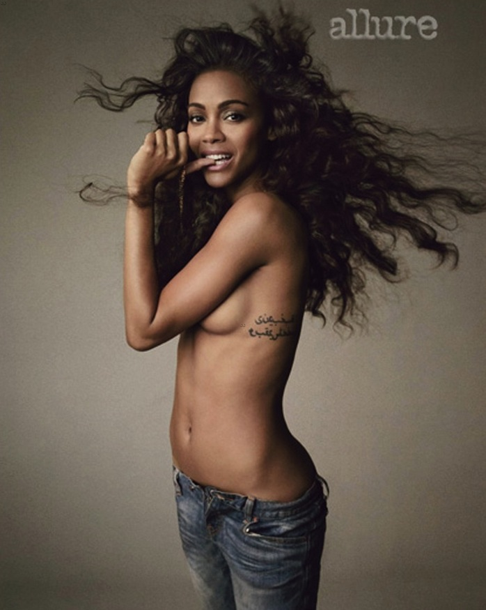 zoe saldana allure picture on chris stokes blog