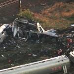 Amtrak Train Derails Moments Before Derailing