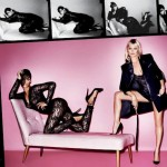 Rihanna & Kate Moss In Steamy S&M Shoot