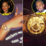 Rihanna, Chris Brown Show Off Matching Rolex Watches