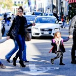 Jennifer Lopez Family Shopping Day In Beverly Hills